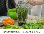 cooking raw vegan spreads and... | Shutterstock . vector #1007514712