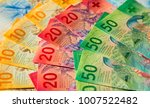 collection of the new swiss... | Shutterstock . vector #1007522482