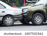 car crash accident on street ... | Shutterstock . vector #1007532562
