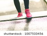 close up of woman s sports... | Shutterstock . vector #1007533456