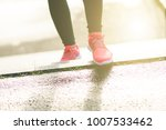 close up of woman s sports... | Shutterstock . vector #1007533462
