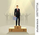 success businessman character...   Shutterstock .eps vector #1007537716