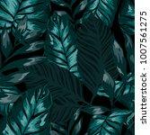 watercolor seamless pattern... | Shutterstock .eps vector #1007561275
