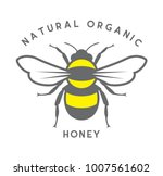 Stock vector honey bee vector file 1007561602