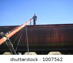 Loading Wheat Into Railcar In...