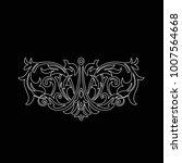 premium  vintage baroque frame...   Shutterstock .eps vector #1007564668