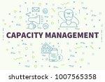 conceptual business... | Shutterstock . vector #1007565358