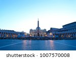 view of saint peters square in... | Shutterstock . vector #1007570008