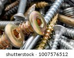 close up of old oxidized metal... | Shutterstock . vector #1007576512