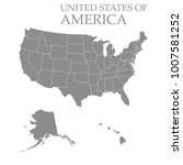 territory of united states of... | Shutterstock .eps vector #1007581252