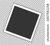photo frame with shadow on... | Shutterstock .eps vector #1007581258