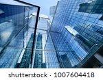 moscow skyscrapers. russia | Shutterstock . vector #1007604418