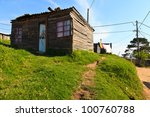 View Of An House In A  Township ...