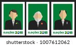 presidential candidates of... | Shutterstock .eps vector #1007612062