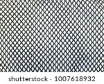 mesh fabric as background   Shutterstock . vector #1007618932