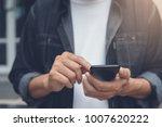 casual business man  hipster ... | Shutterstock . vector #1007620222