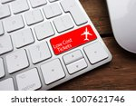 low fare or cheap flights... | Shutterstock . vector #1007621746