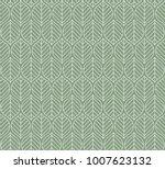 geometric leaves vector... | Shutterstock .eps vector #1007623132