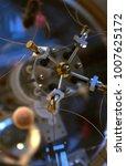 abstract metal construction.... | Shutterstock . vector #1007625172