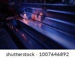 hand hold welding steel.... | Shutterstock . vector #1007646892