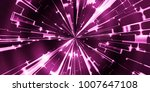 closeup of colorful abstract... | Shutterstock . vector #1007647108