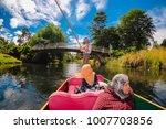 christchurch  new zealand  ...   Shutterstock . vector #1007703856
