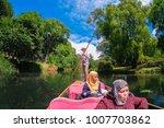 christchurch  new zealand  ...   Shutterstock . vector #1007703862