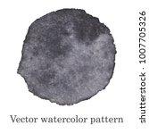 vector watercolor pattern. gray ...   Shutterstock .eps vector #1007705326