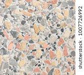terrazzo floor texture... | Shutterstock . vector #1007726992