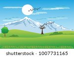 vector cartoon design of a... | Shutterstock .eps vector #1007731165