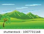 vector cartoon design of a... | Shutterstock .eps vector #1007731168