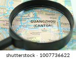 close up of guangzhou city...   Shutterstock . vector #1007736622