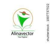 modern farmer logo vector | Shutterstock .eps vector #1007737522