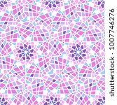 colorful mosaic style vector... | Shutterstock .eps vector #1007746276