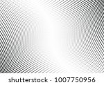 abstract halftone wave dotted... | Shutterstock .eps vector #1007750956