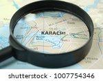 close up of karachi city under...   Shutterstock . vector #1007754346