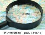 close up of helsinki city under ...   Shutterstock . vector #1007754646