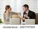 man with deliberately sad...   Shutterstock . vector #1007757505