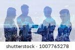 financial technology concept. | Shutterstock . vector #1007765278