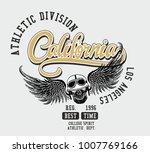 california los angeles graphic... | Shutterstock .eps vector #1007769166