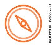 compass direction navigation  | Shutterstock .eps vector #1007772745