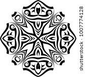 tribal tattoo design vector art   Shutterstock .eps vector #1007774128