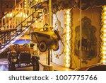 children's carousel at an... | Shutterstock . vector #1007775766