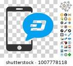 smartphone dash message...