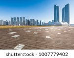 panoramic skyline and buildings ... | Shutterstock . vector #1007779402