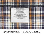 care and content clothes label... | Shutterstock . vector #1007785252