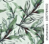 .seamless pattern branch in... | Shutterstock . vector #1007789032