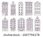 traditional scandinavian and... | Shutterstock .eps vector #1007796178