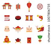 chinese new year holiday... | Shutterstock .eps vector #1007806735