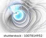 abstract bright blue and grey... | Shutterstock . vector #1007814952